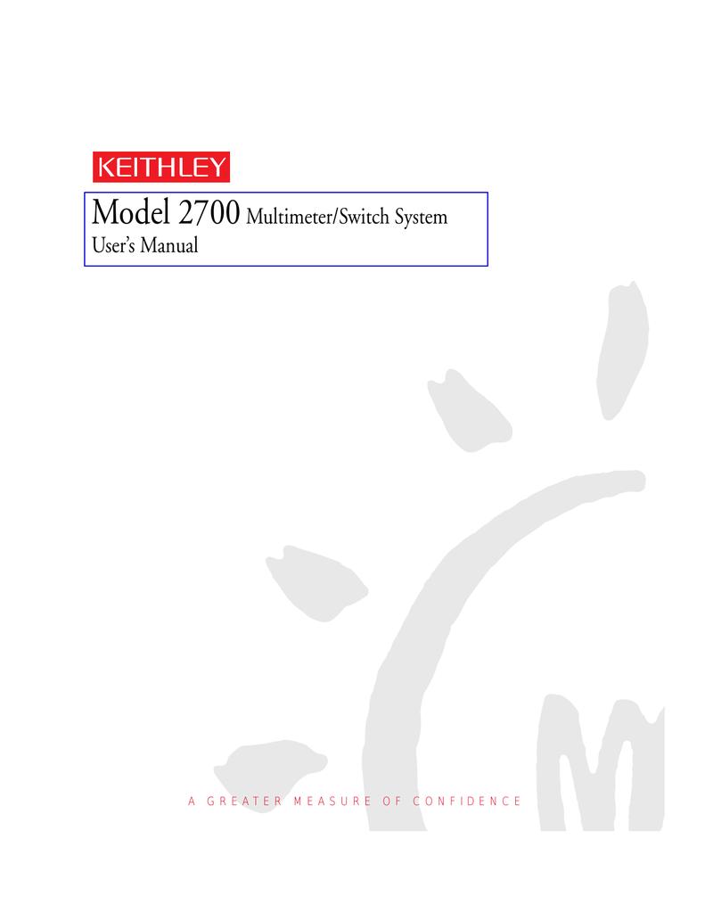 User`s Manual