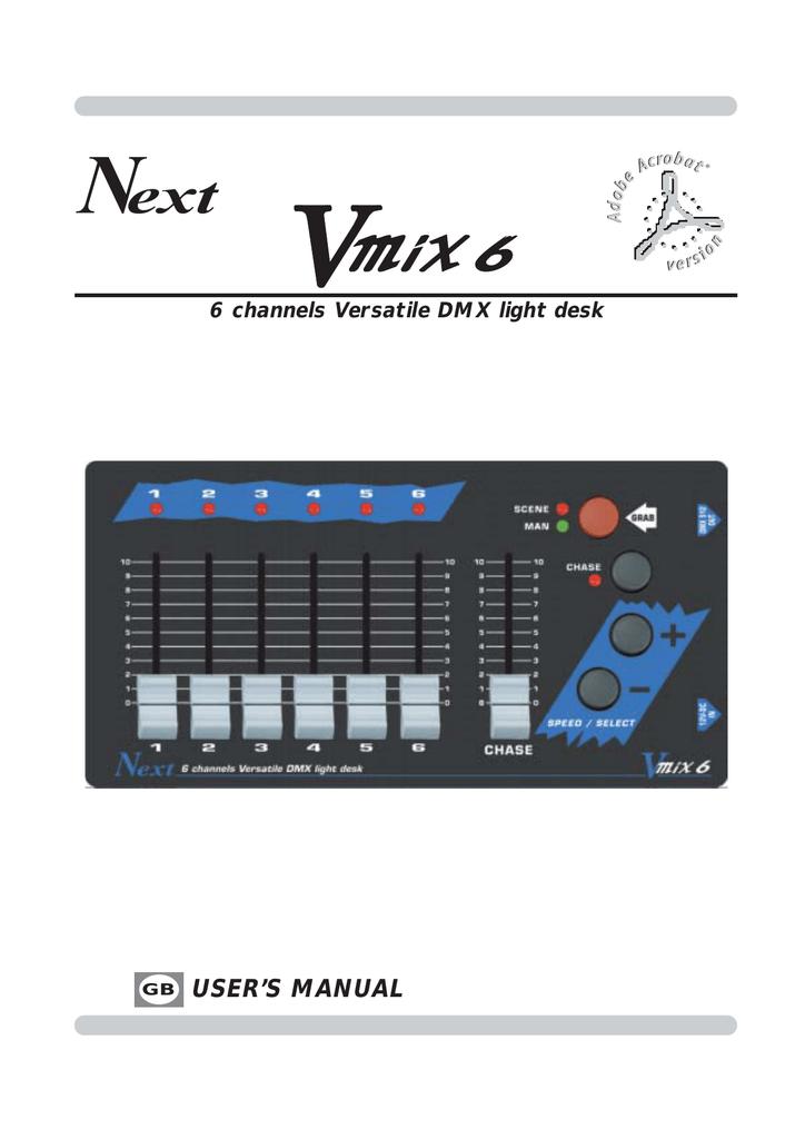 VMIX 6 GB qxd - Codem Music srl | manualzz com