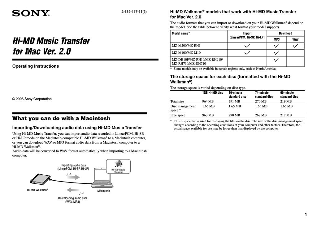 Sony MZ-RH710 User manual   manualzz com