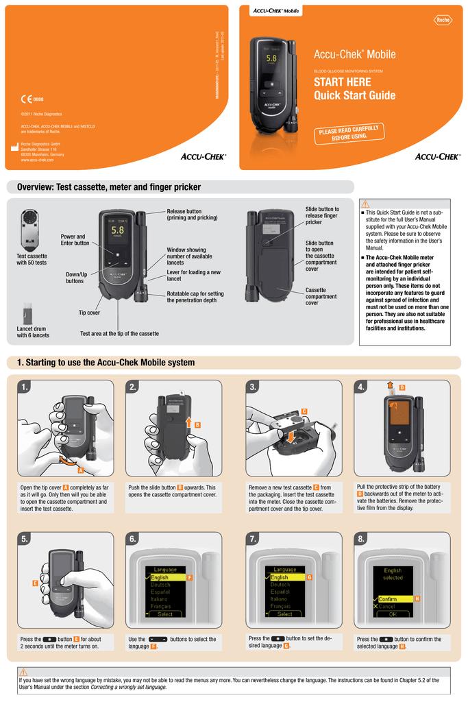 Amazon Accu Chek Mobile Manual Guide