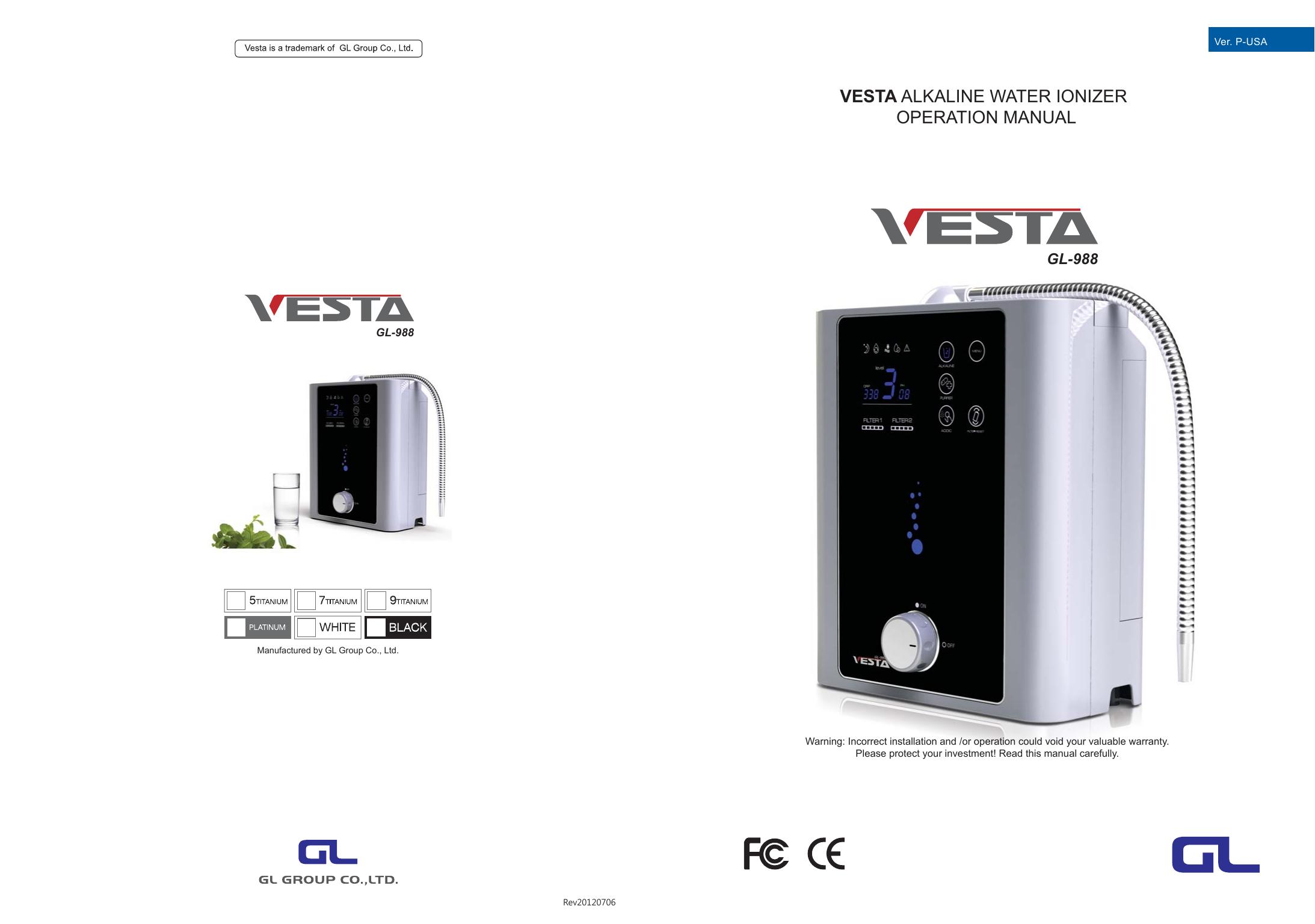 Vesta User Manual On Screen Click Here | manualzz com