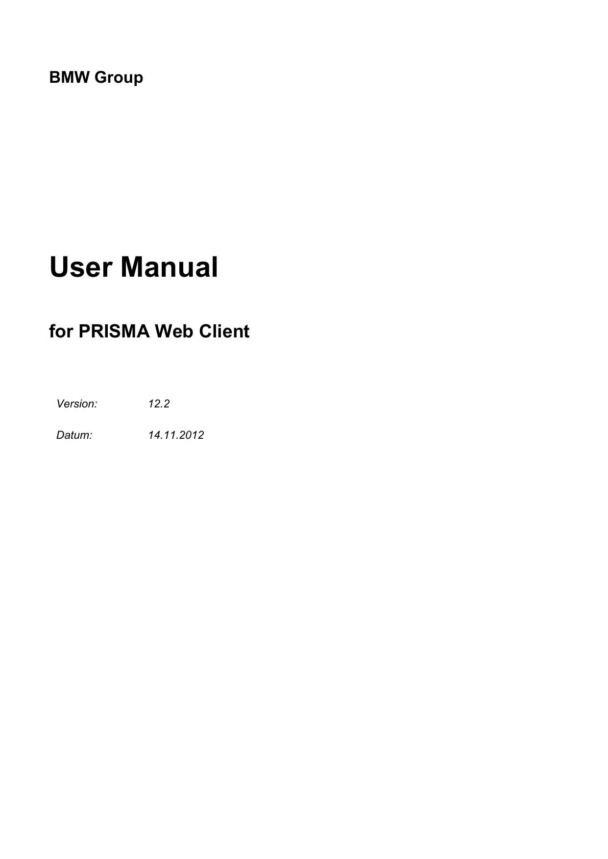 User Manual - BMW Group Partner Portal   manualzz com