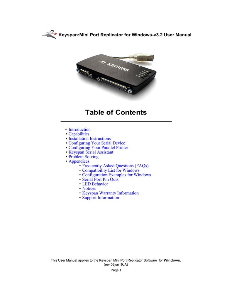 Configuring Your Serial Device | manualzz com