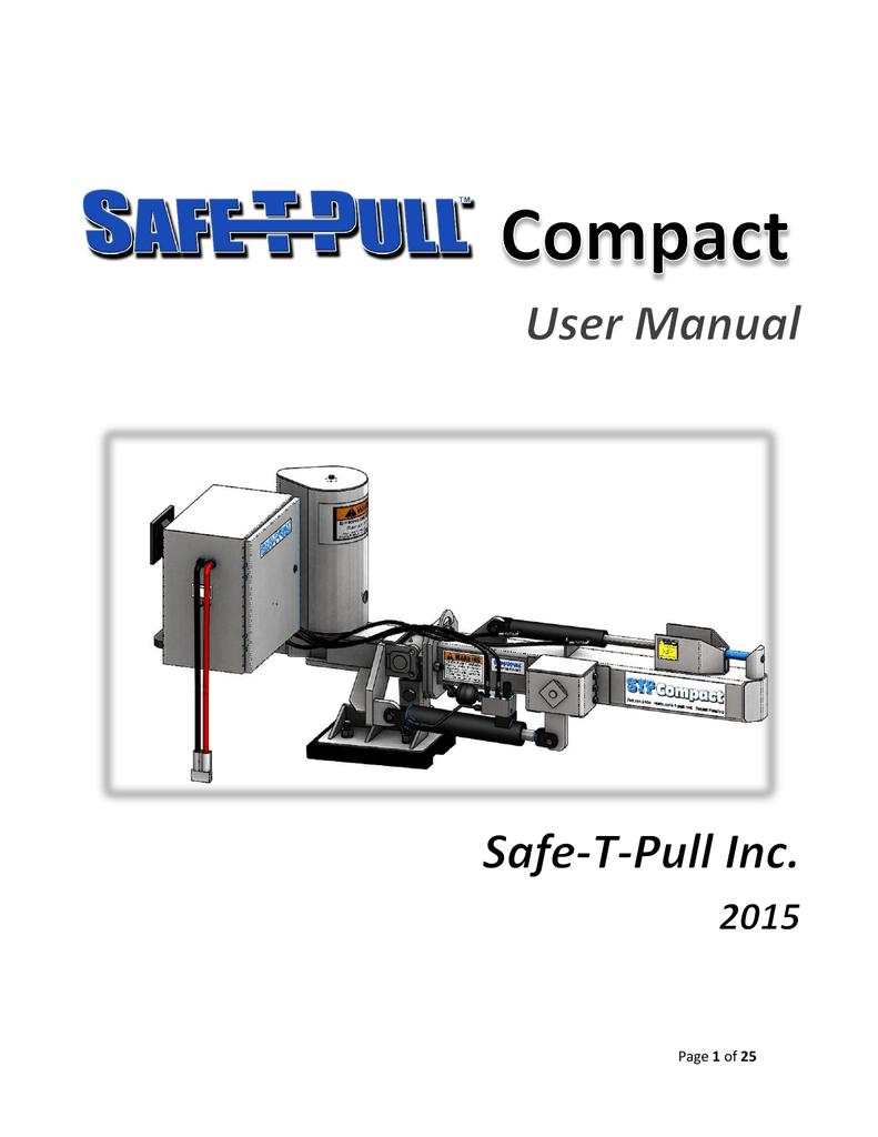 User S Manual Safe T Pull Manualzz