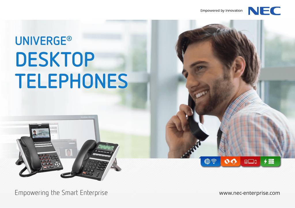 UNIVERGE® Desktop Telephones | manualzz com