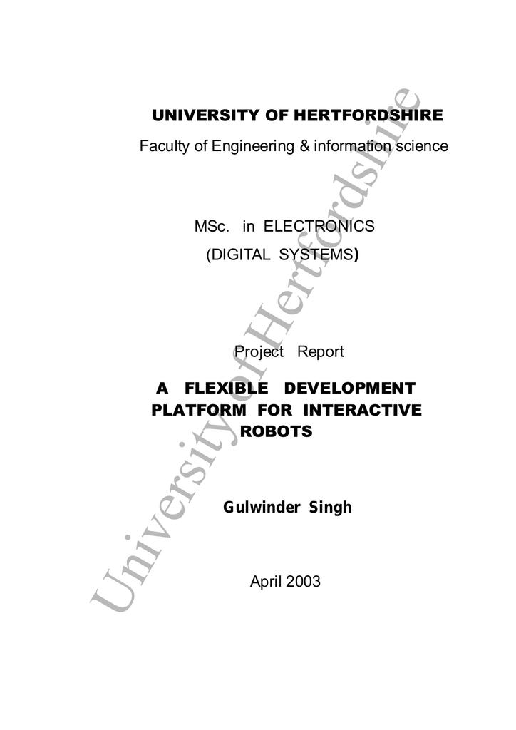 University Of Hertfordshire Manualzz