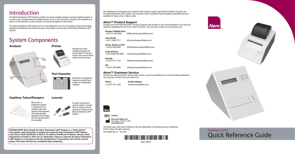LDX Quick Reference Guide   manualzz com