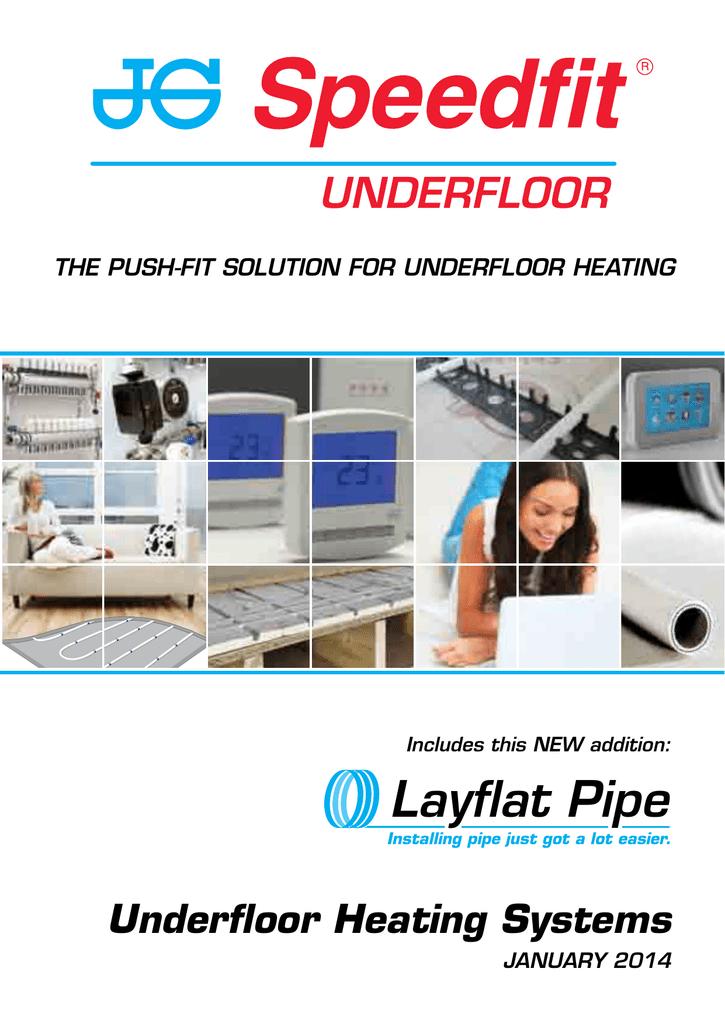 john guest speedfit® underfloor heating datasheet  manualzz