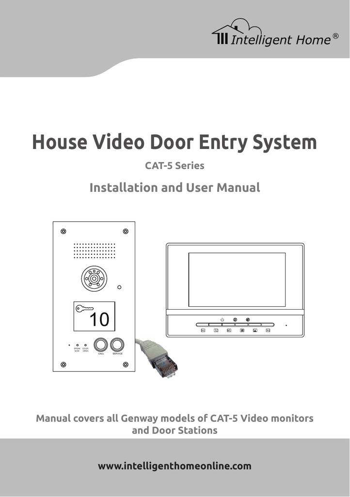 Marvelous Genway House Cat 5 Manual V016 Manualzz Com Wiring Digital Resources Otenewoestevosnl