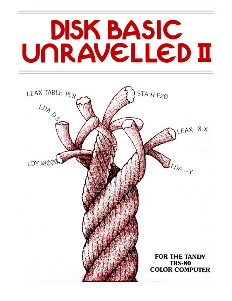 Disk Basic Unravelled II   Manualzz