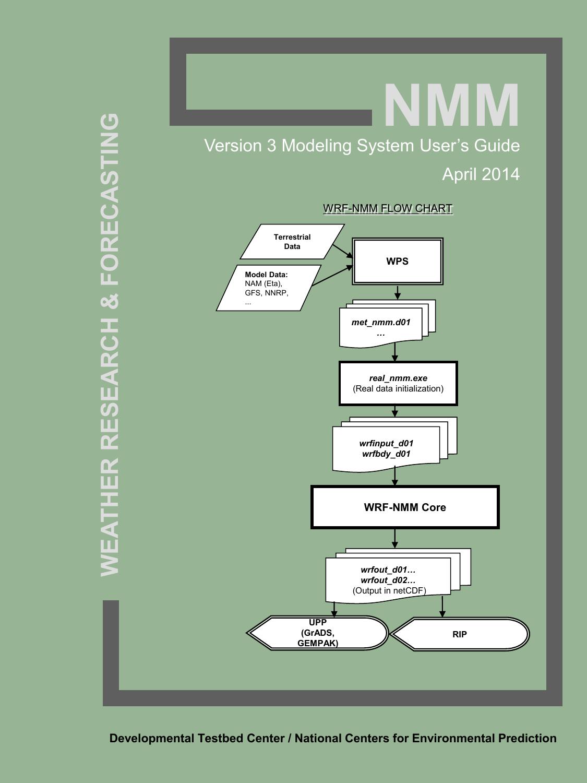 WRF-NMM User`s Guide | manualzz com