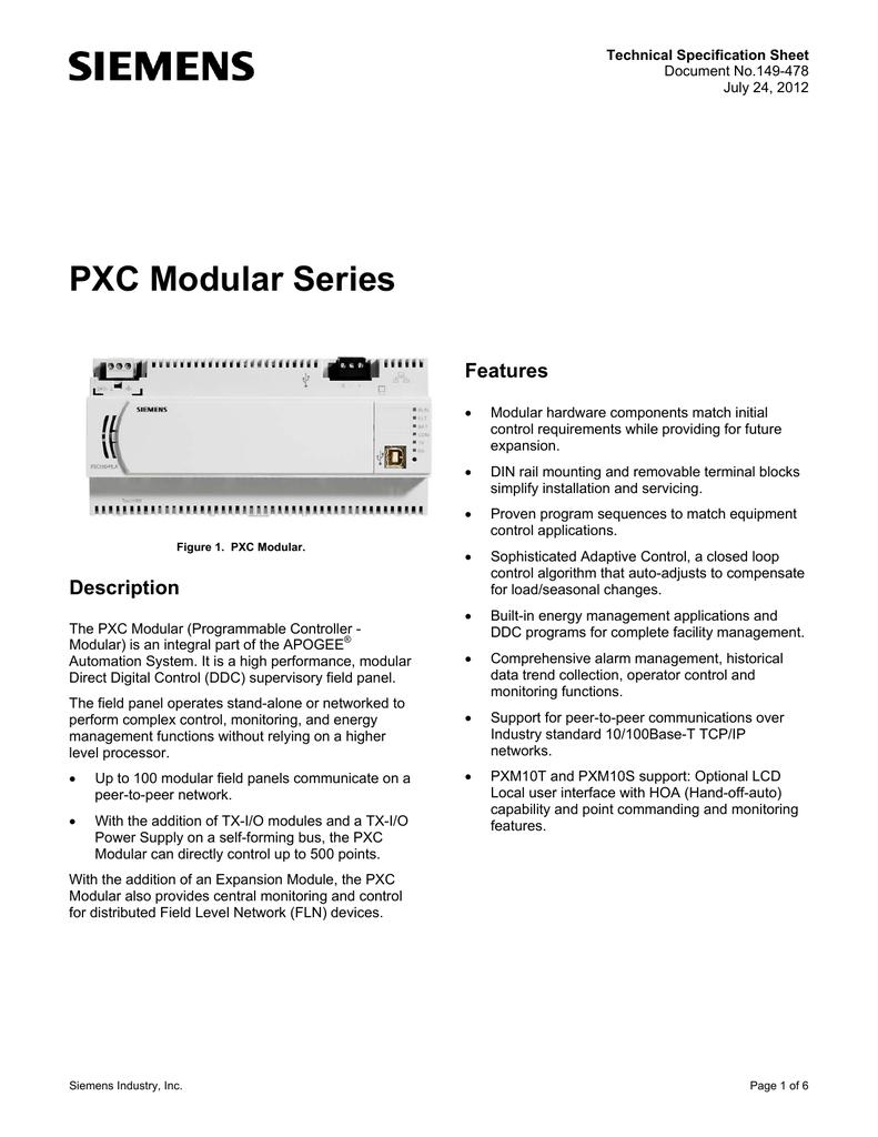 Pxc Modular Series Manualzz