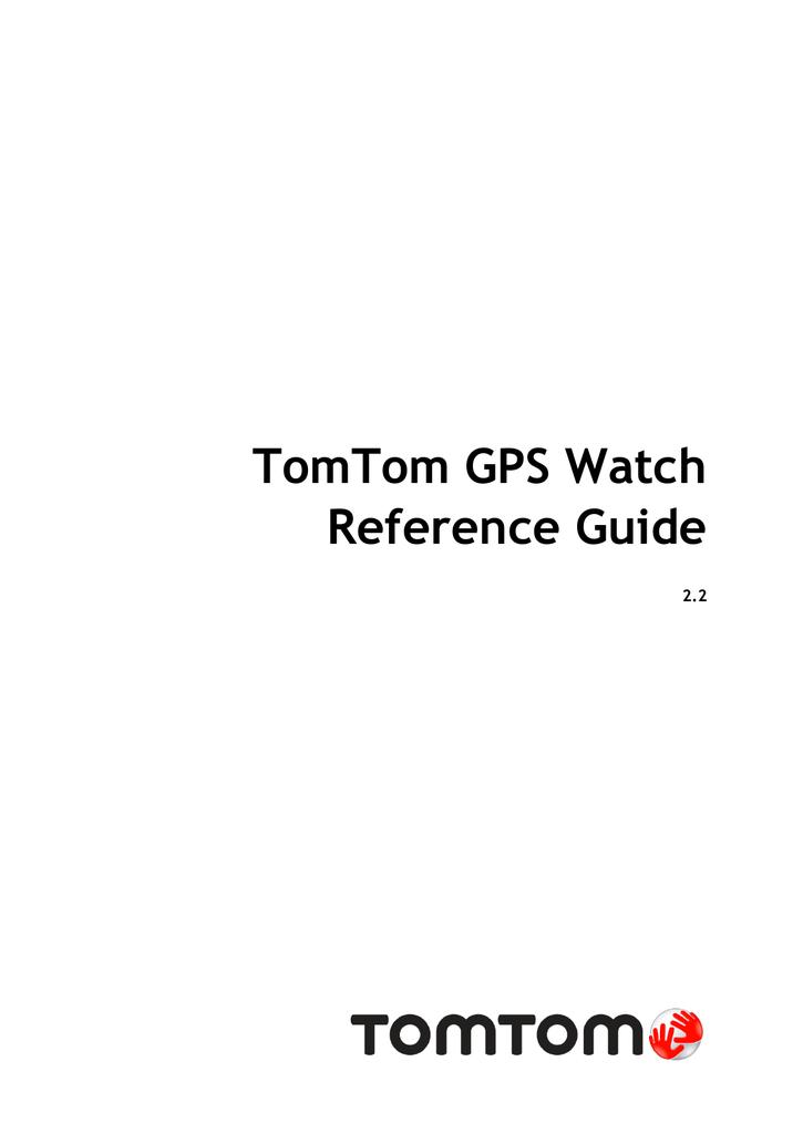 TomTom GPS Watch
