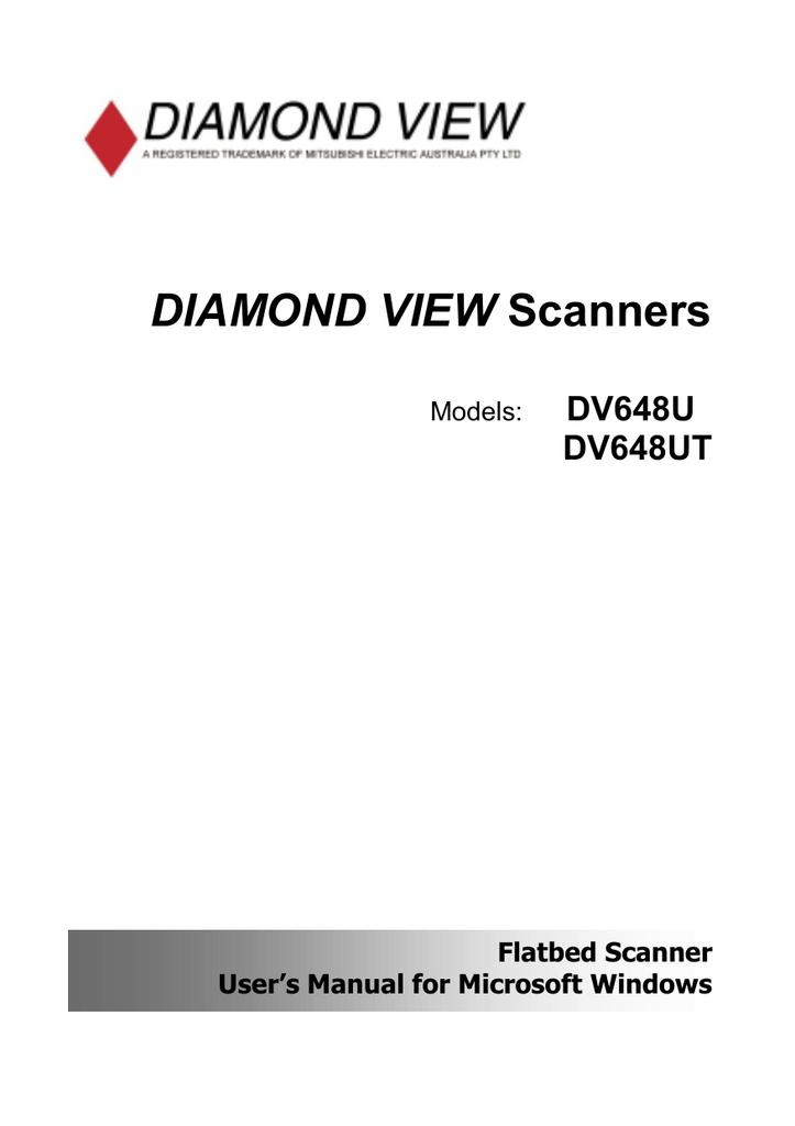 DIAMOND VIEW SCANNER DV648U WINDOWS 7 DRIVER