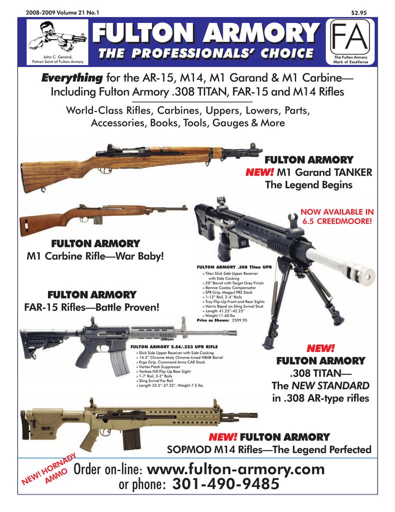 Fulton Armory Catalog - AR-15 | manualzz com