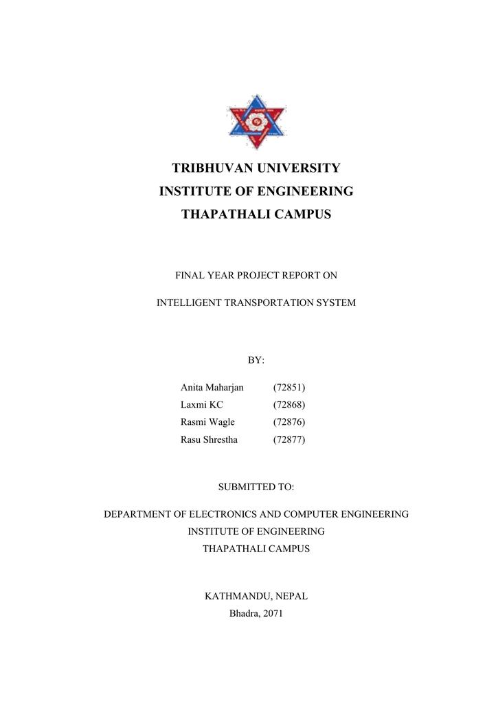 tribhuvan university institute of engineering thapathali | manualzz com