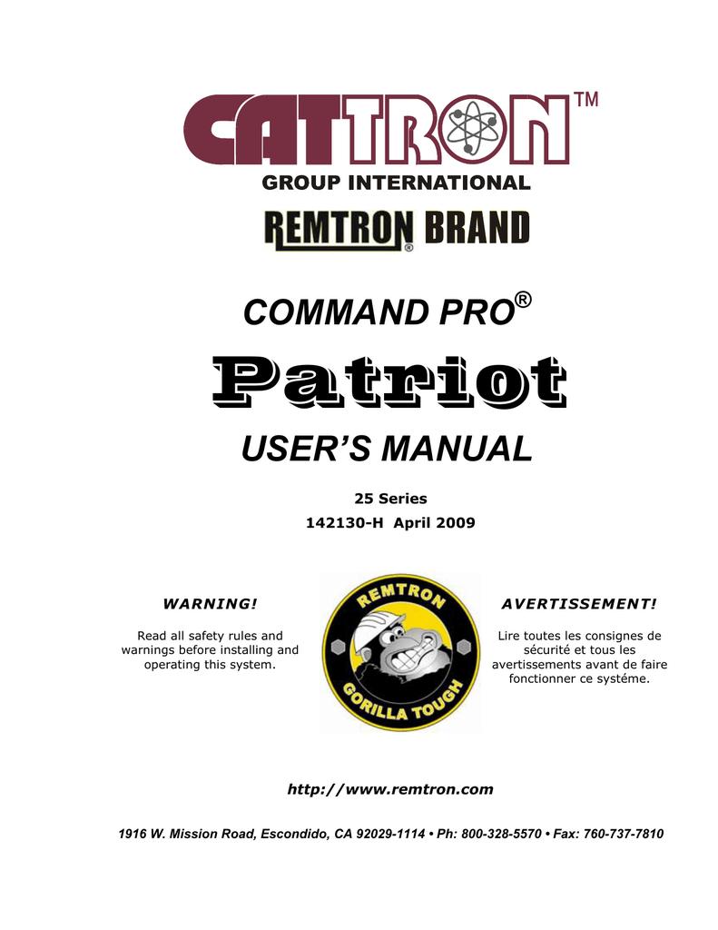 patriot user manual manualzz com rh manualzz com CD Manual Ryobi Weed Eater Operations Manual