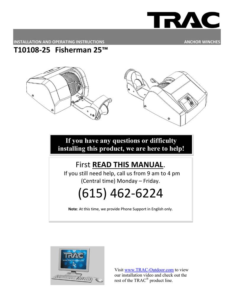 Usm 25 operating manual