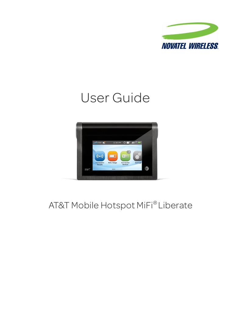 at t mobile hotspot mifi liberate user guide manualzz com rh manualzz com AT&T Sierra Wireless MiFi Verizon MiFi