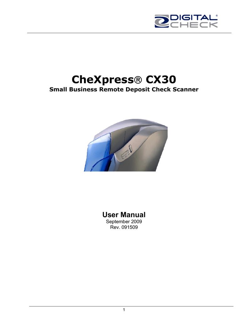 CheXpress CX30 User Guide | manualzz com