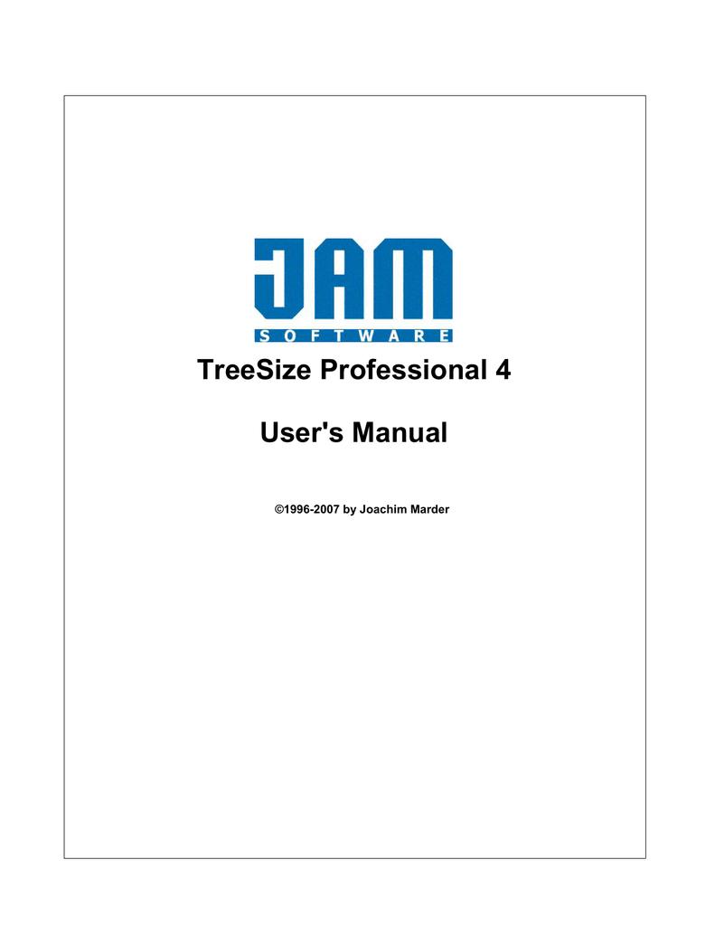 TreeSize Professional 4 | manualzz com
