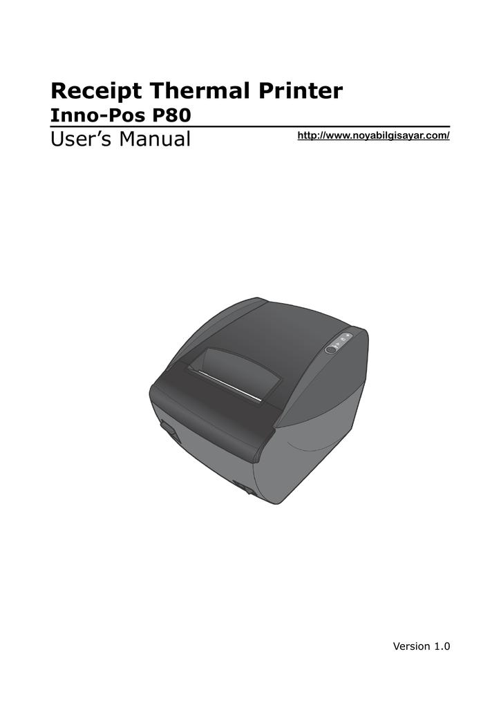 Receipt Thermal Printer Inno | manualzz com