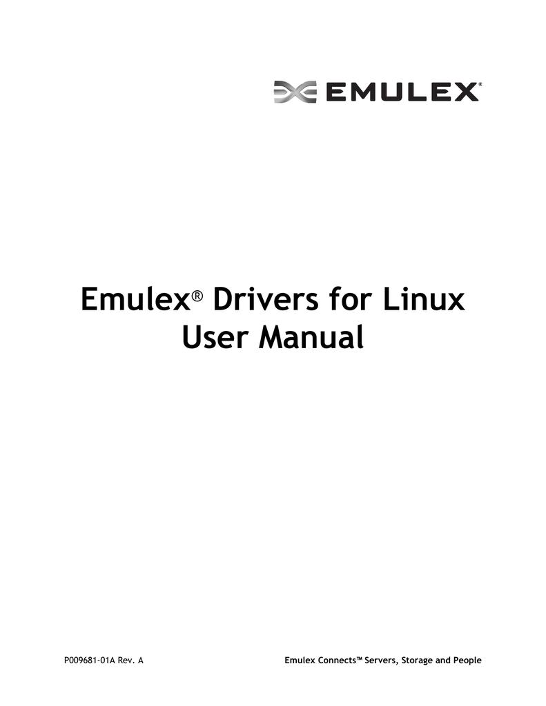 emulex lpfc driver