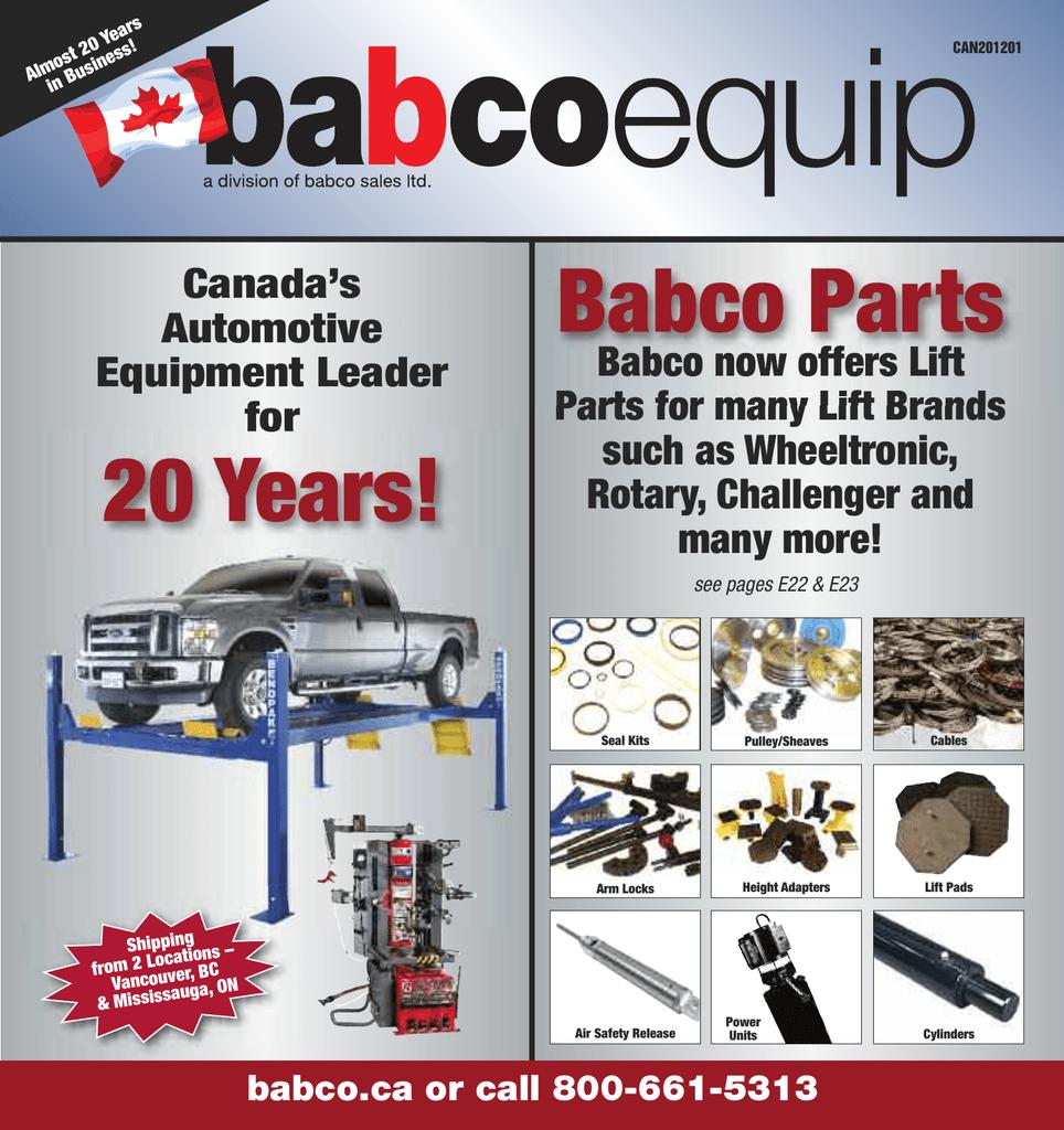 Babcoca Or Call 800 661 5313 Canadas Automotive Equipment Auto Wiring Diagram Library Oem 2000 Honda 4 Cylinder Front Oxygen Sensor
