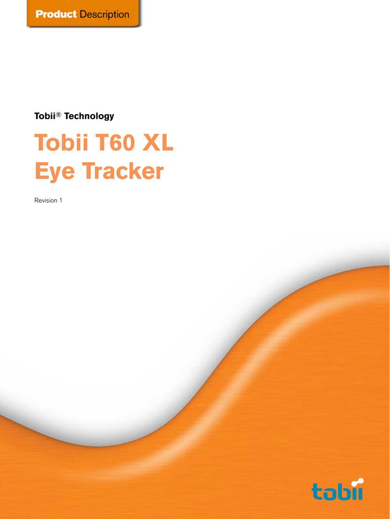 Tobii T60 XL Eye Tracker   manualzz com