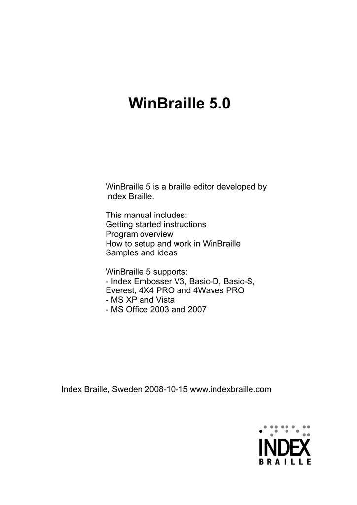 winbraille 5