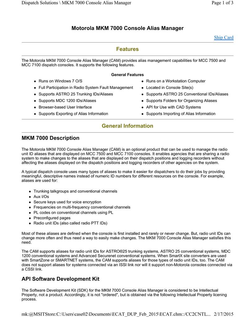 Price Pages - Motorola Solutions | manualzz com