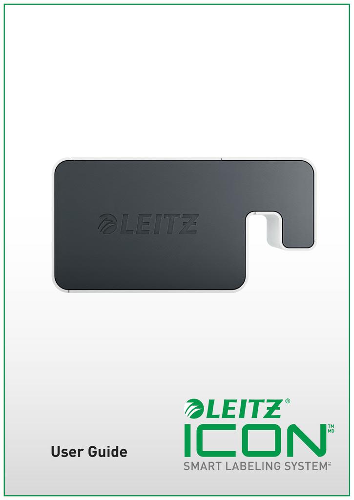 Leitz Icon Printer User Guide - Assets | manualzz com