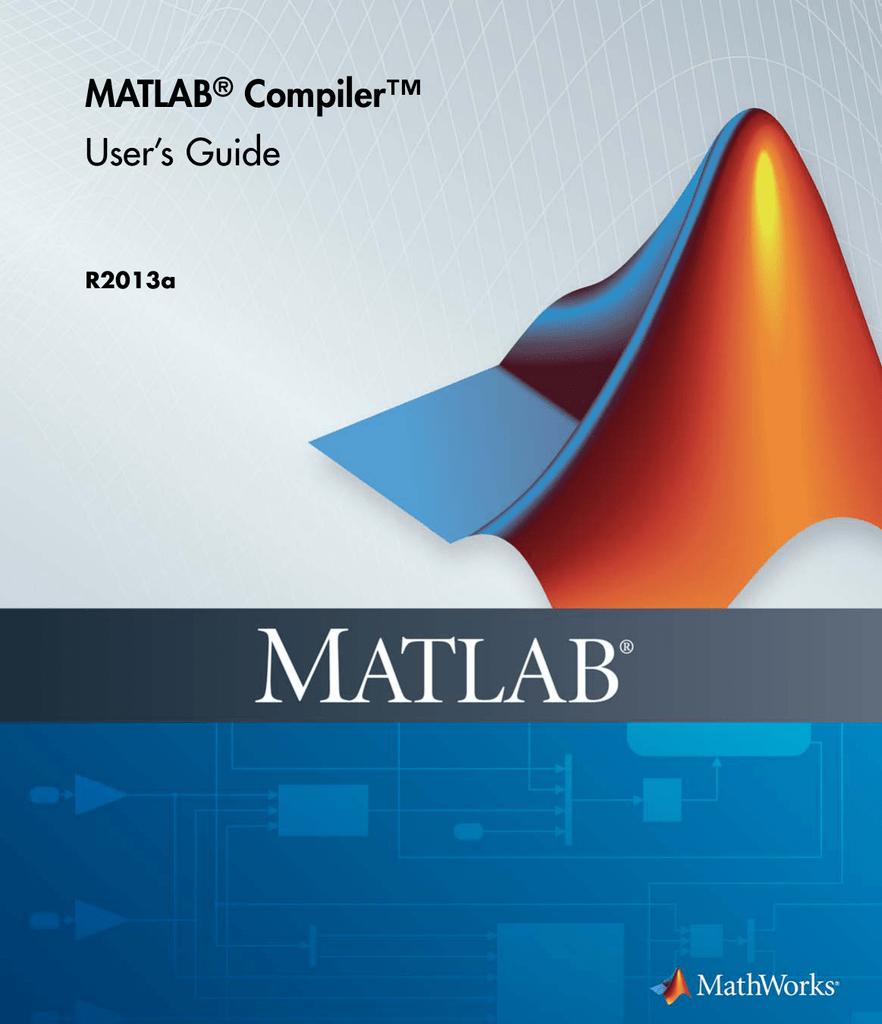 MATLAB Compiler | manualzz com