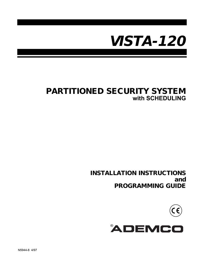 Section 1 - Honeywell Security | manualzz com
