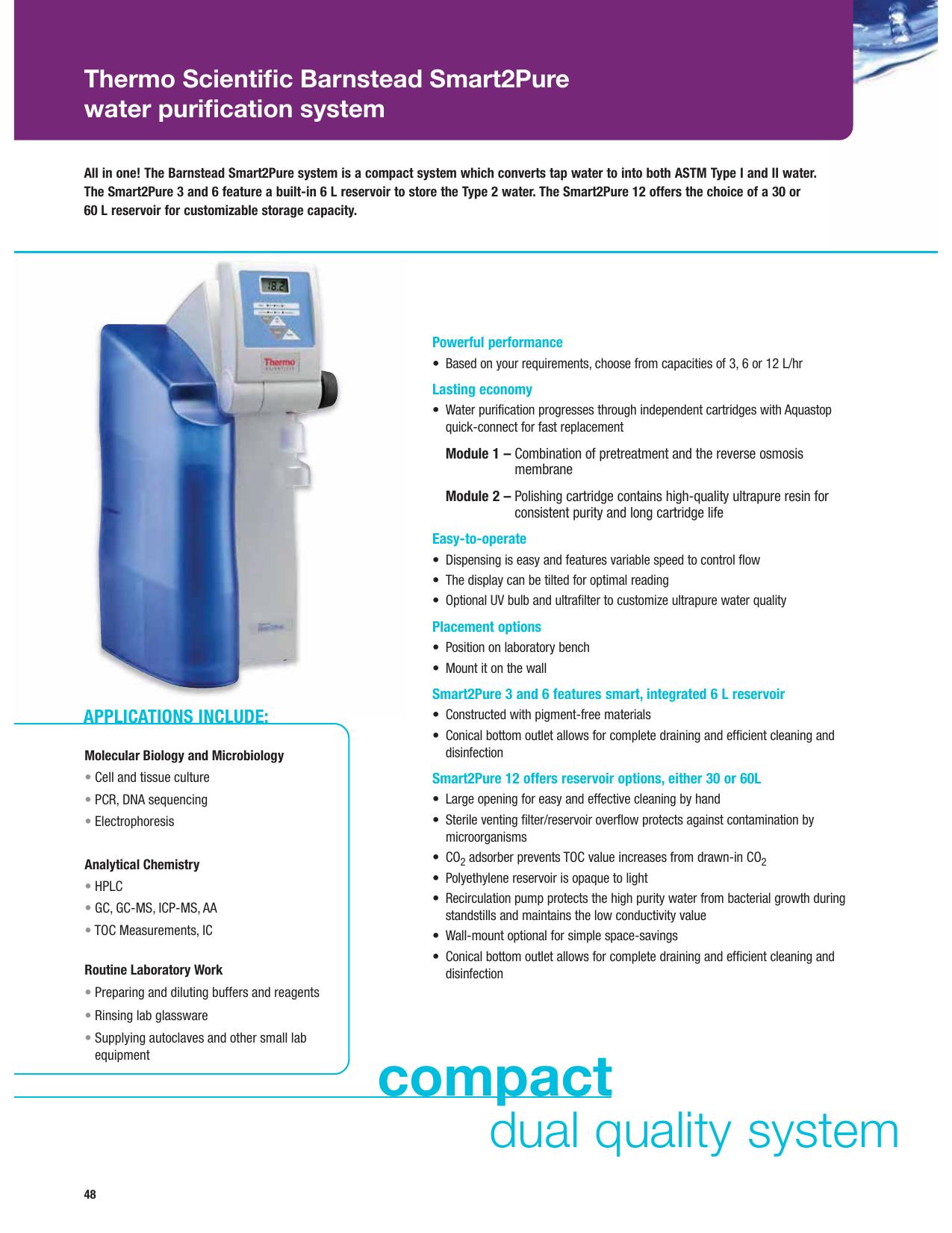 Smart2Pure Water Purification System | manualzz com