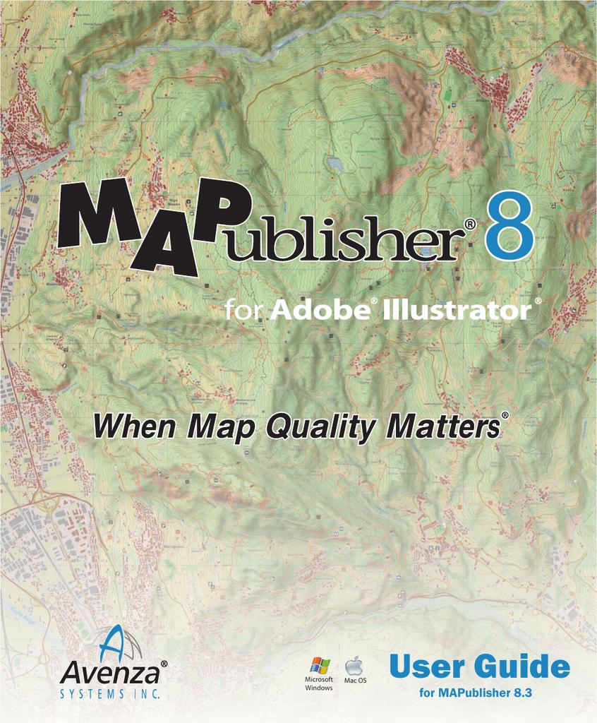 MAPublisher 8 3 User Guide | manualzz com