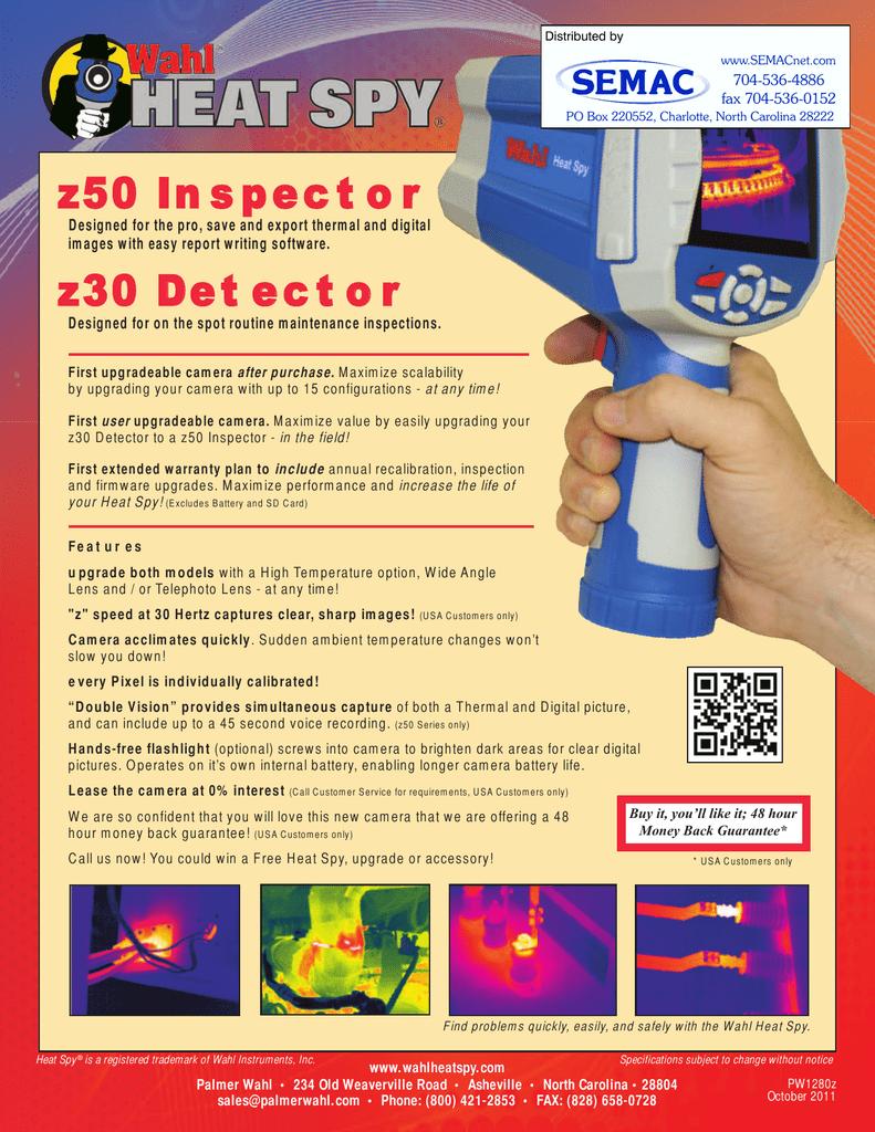 z50 In spect o r z30 Det ect o r | manualzz com