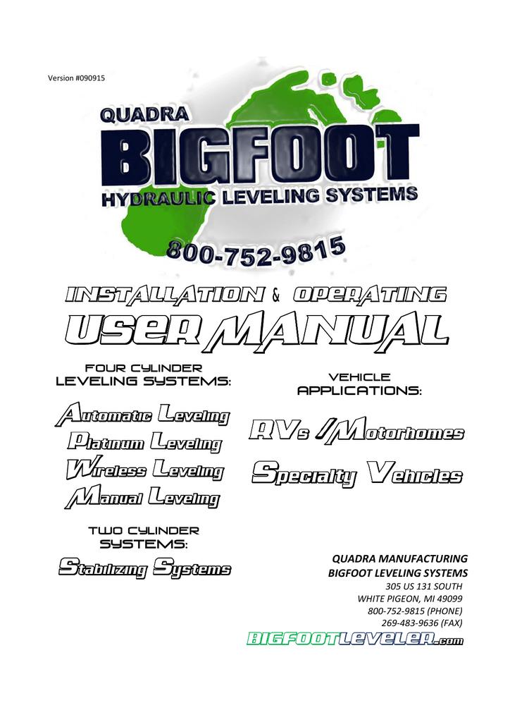 Universal Leveling System Manual Mh Manualzz Com