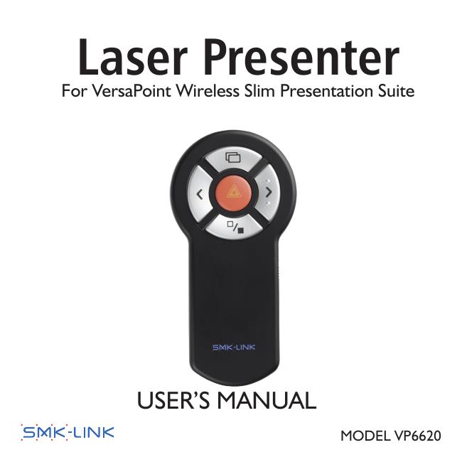 SMK-LINK RemotePoint Wireless Presentation Suite VP6341 ...