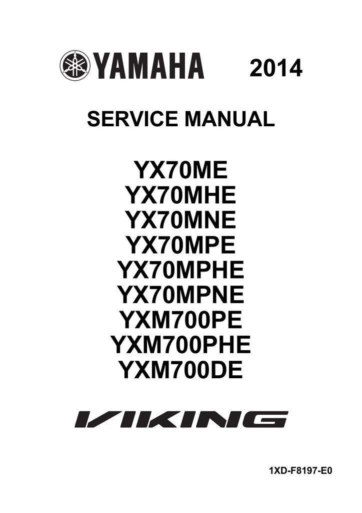 Yamaha Viking Wiring Diagram
