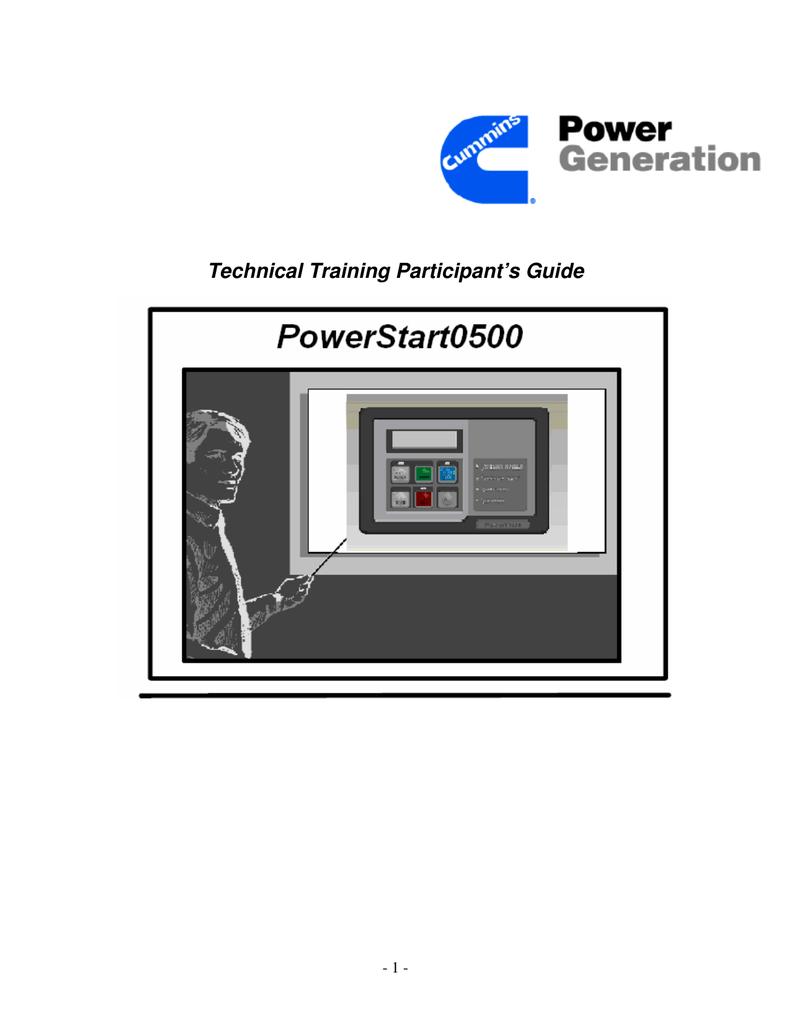 Ps O500 Manual Cummins Information Portal Ats Diagram 3 Wire Pump Pressure Control