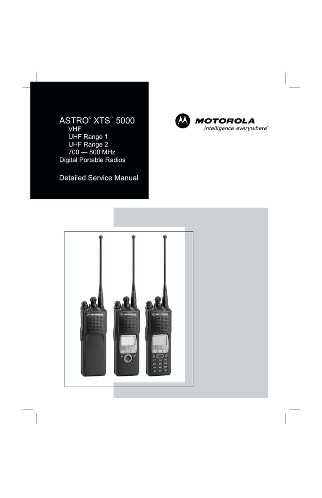 xts5000 service manual | manualzz com