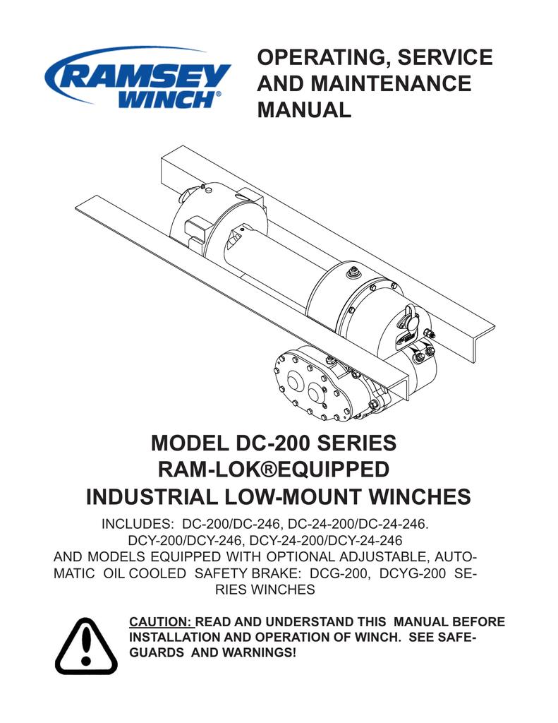 Ramsey Re 12000 Winch Wiring Diagram