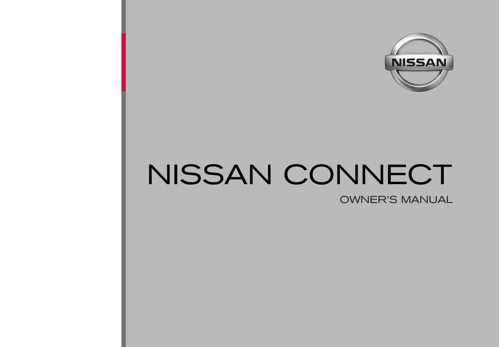 NISSAN CONNECT | manualzz com