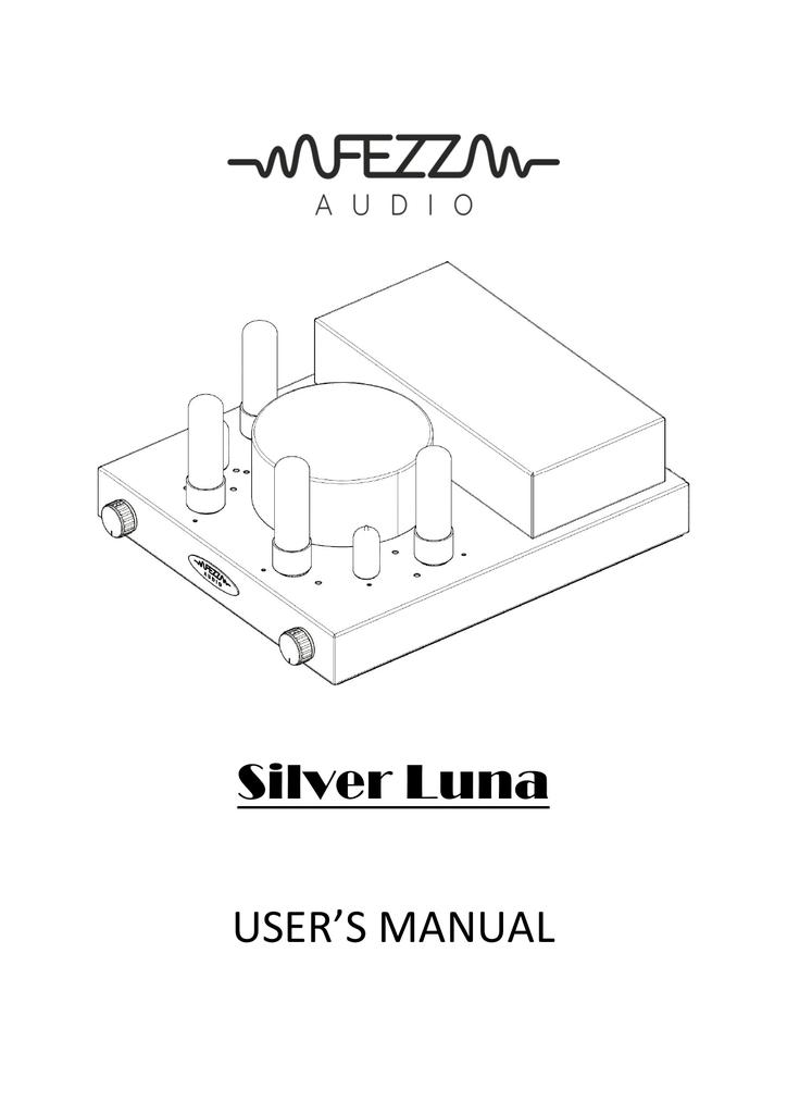 Silver Luna Fezz Audio Manualzz