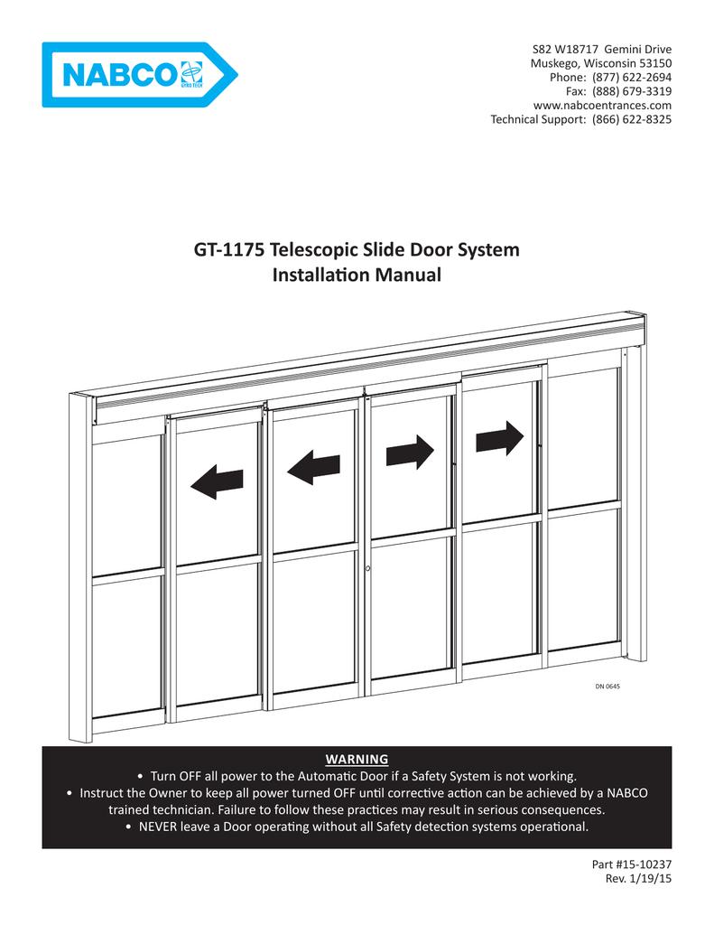 gt 1175 telescopic slide door system installation manual manualzz com rh manualzz com Nibco Valves Nibco Valves