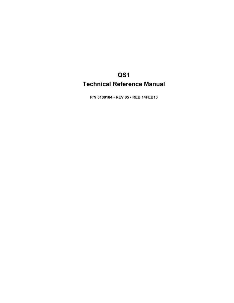 EST QuickStart QS1 - Northwestern Ohio Security Systems, Inc. | manualzz.com