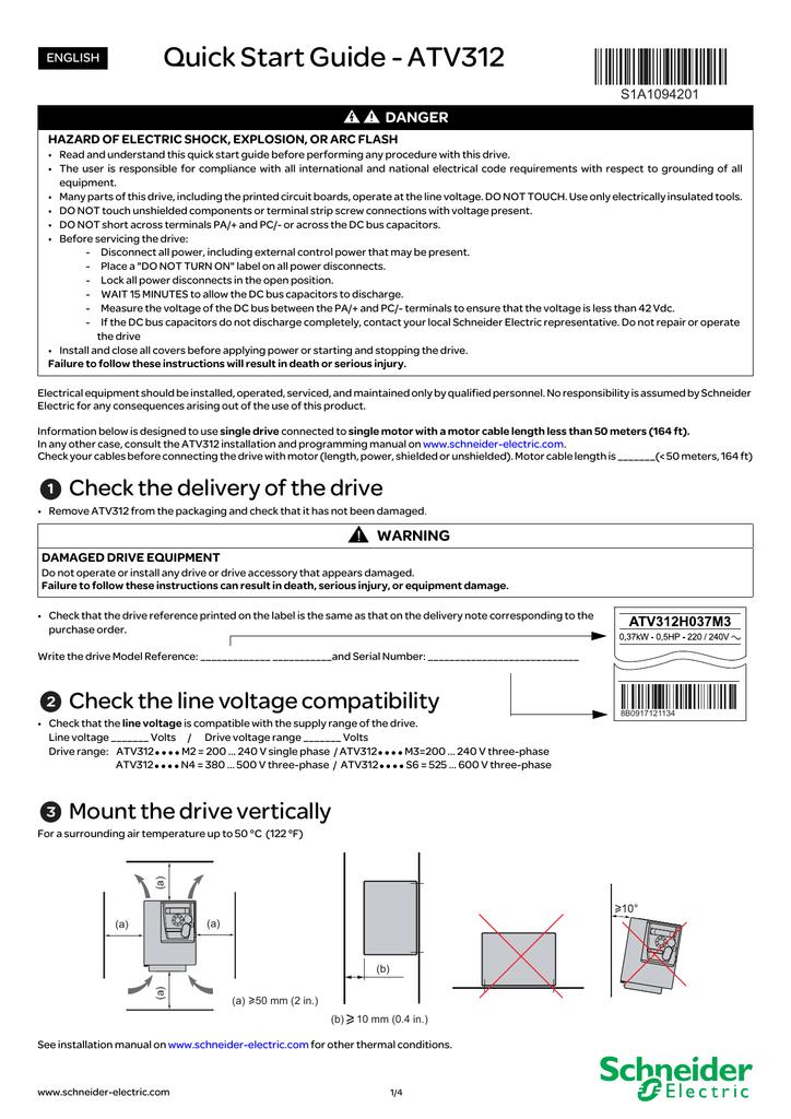 atv312 installation manual