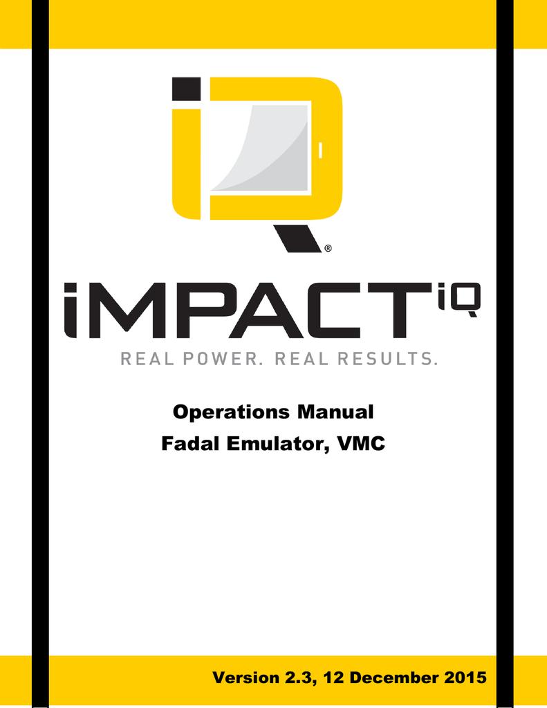 Operations Manual Fadal Emulator, VMC | manualzz.com on