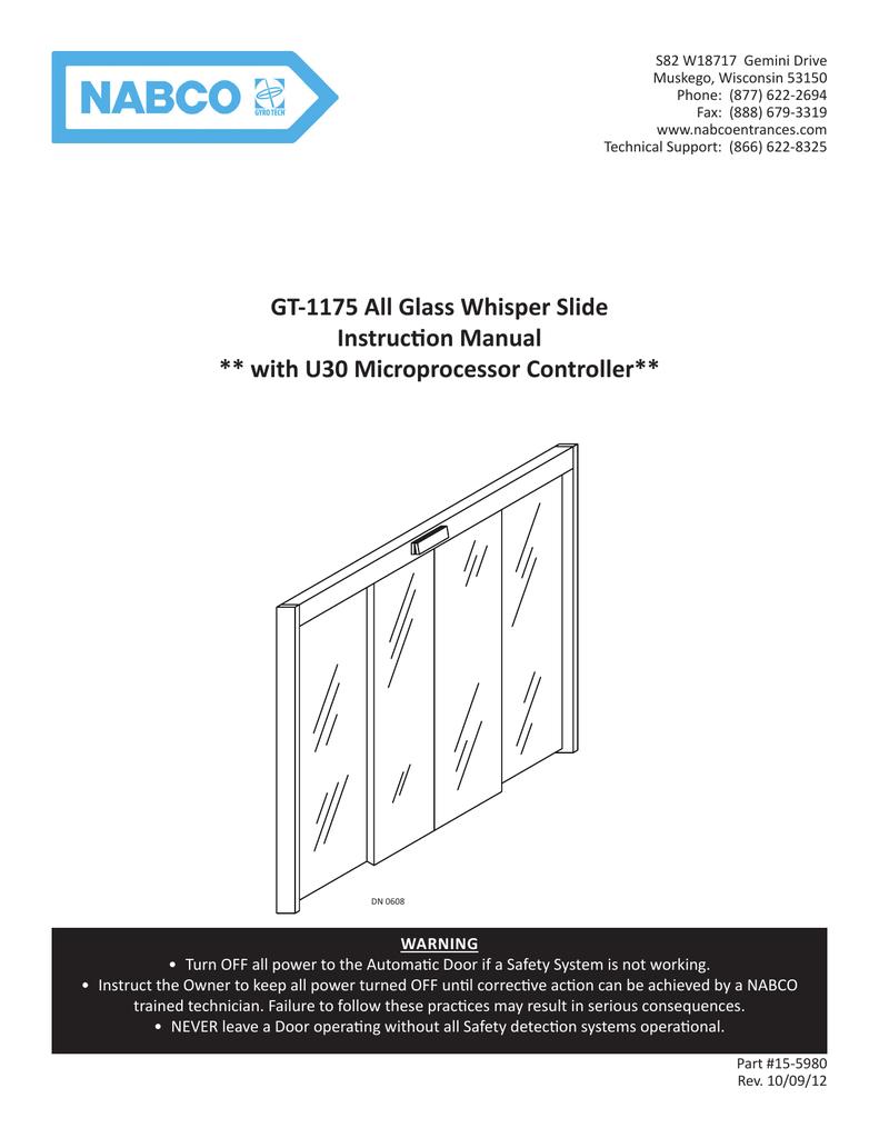 gt 1175 all glass whisper slide instruction manual with u30 rh manualzz com nabco gyro tech 710 installation manual Nibco Valves
